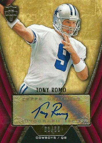 トニー・ロモ NFLカード Tony Romo 2010 Topps Supreme Autographs 53/55