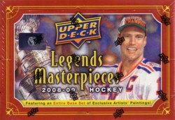NHL 08/09 UD Legends Masterpieces Box