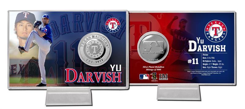The Highland Mint (ハイランドミント) ダルビッシュ有 2012 スプリング・トレーニング シルバーコインカード Yu Darvish Spring Treining Silver Coin Card ★5/28入荷!