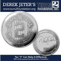 The Highland Mint (ハイランドミント) デレク・ジーター ファイナルシーズンコイン#1 (Derek Jeter Final Season Foundation Coin)