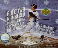 MLB 2007 UD SPECTRUM Box