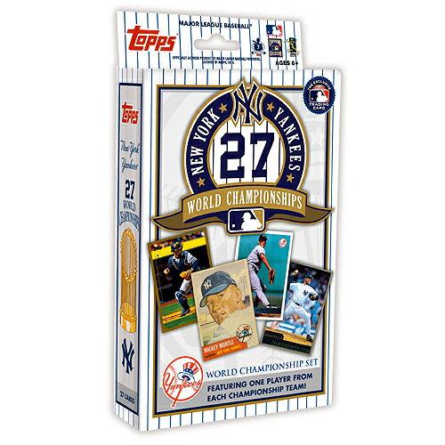 【MLBカード】 【ニューヨーク ヤンキース】 MLB Topps New York Yankees 27x Champion Collection ★5/26入荷★