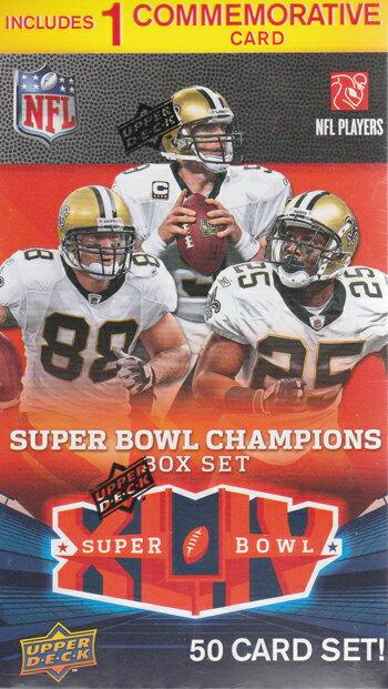 4/16発売★ NFL 2010 UD Super Bowl Box Set (アメリカンフットボール) (トレーディングカード) (アメフトカード) (スーパーボウル) (アッパーデック)