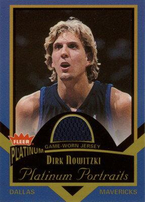 【ダーク ノヴィッツキー】2002/03 Fleer Platinum Portraits Jersey /Dirk Nowitzki
