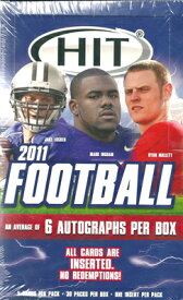 2011 Sage Hit Low Series Football ボックス (Box) ★3/22入荷!