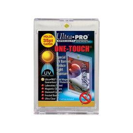 ウルトラプロ(UltraPro) ワンタッチマグネットホルダー 35PT 1mm厚 UVカット仕様 (#81575) One Touch Magnet Holder UV