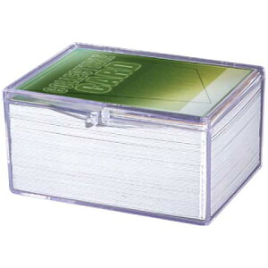 Ultra Pro (ウルトラプロ) ヒンジ付きカードケース 100枚用 (#43005) / Hinged 100 Card Storage