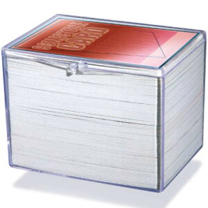 Ultra Pro (ウルトラプロ) ヒンジ付きカードケース 150枚用 (#43004) / Hinged 150 Card Storage