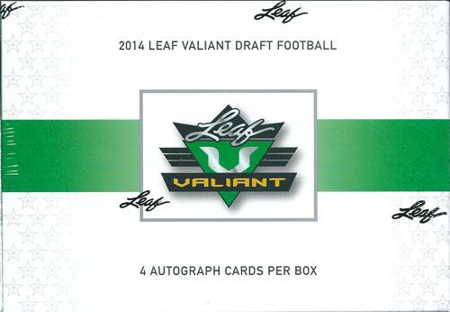 2014 Leaf Draft Valiant Draft Football ボックス(Box) ★6/11入荷!