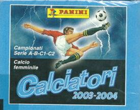 【サッカーカード】 SC 03/04 Panini Calciatori ステッカー (イタリアリーグ ステッカー) Box (ボックス)