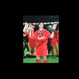 【ロビー ファウラー】 直筆サインフォト (Worthington Cup Winner 2001) / Robbie Fowler