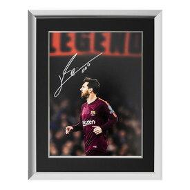 リオネル・メッシ 直筆サインフォト FC バルセロナ マスター・オブ・ザ・ボール 額装 (Lionel Messi Official Signed FC Barcelona Photo: Master of the Ball)