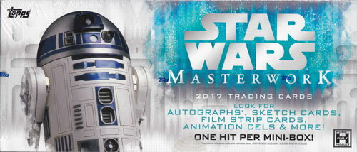 スター・ウォーズ 2017 Topps Star Wars Masterwork トレーディングカード 11/8入荷!