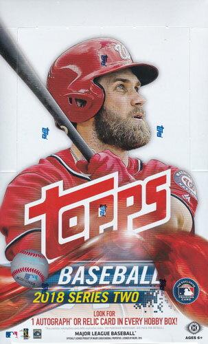 MLB 2018 Topps Series 2 Baseball Jumbo 6/13入荷!