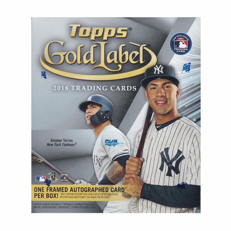 MLB 2018 Topps Gold Label Baseball 送料無料 10/12入荷!