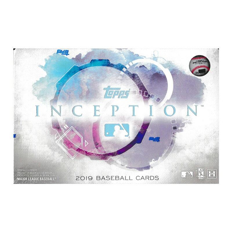 MLB 2019 Topps Inception Baseball 3/20入荷