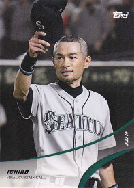 イチロー Ichiro 2019 Topps On Demand Set #4-14 Final Curtain Call