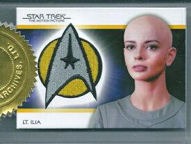 スタートレック Star Trek Classic Movies Heroes & Villains Case Topper PC11 Lt.Ilia Uniform Patch 044/250