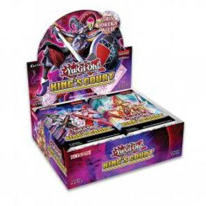 【予約販売】遊戯王 King's Court (3BOXセット)【遊戯王 英語版】