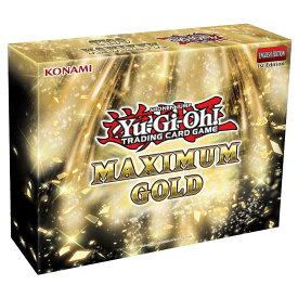 【予約販売】遊戯王 Maximum Gold BOX【遊戯王 英語版】