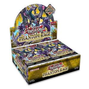 【予約販売】遊戯王 Phantom Rage (3BOXセット)【遊戯王 英語版】