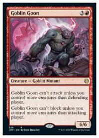 【MTG】(ENG) ゴブリンのうすのろ/Goblin Goon(JMP) 赤◇レア