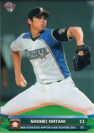BBM2016 北海道日本ハムファイターズ レギュラーカード No.F02 大谷翔平