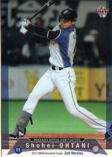 BBM2017 ベースボールカード セカンドバージョン レギュラーカード No.388 大谷翔平