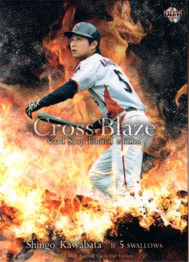 BBM2012 ベースボールカード セカンドバージョン プロモーションカード No.CSR08 川端慎吾