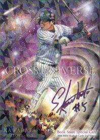 BBM2018 ベースボールカード セカンドバージョン プロモーションカード(Book Store) No.BM12 川端慎吾