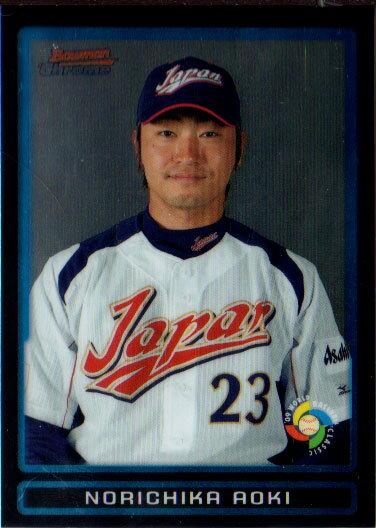 青木宣親 2009 Bowman Chrome Draft Picks & Prospects No.BDPW35 Norichika Aoki