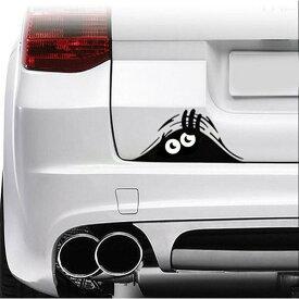 モンスターがこっそり覗く 車 ステッカー 面白い ギャグ かわいい おしゃれ シール 自動車 エンブレム シール デカール アクセサリー ブランド アウトドア グッズ 雑貨 おもしろ かっこいい おしゃれ