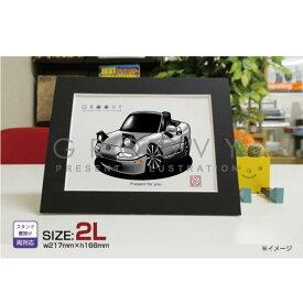 【父の日 ギフト】 マツダ ロードスター NA 車 イラスト 2L版 グルービー Mazda MAZDA roadster ステッカーも追加OK 車好き プレゼント グッズ おしゃれ かっこいい アート アクセサリー