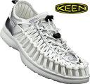 送料無料 KEEN キーンユニーク O2 X TAKASHI IMAI | オープンエアスニーカー1017225 White bear メンズ スポーツ スニーカーキャン…