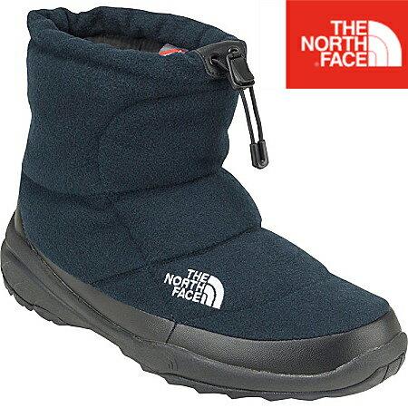 【送料無料】ザ・ノース・フェイス [THE NORTH FACE] 【NF51787 NK ネービーブラック】Nuptse Bootie Wool IIIShort ヌプシブーティーウール III ショート(ユニセックス)ゲレンデなどのレジャー防寒に あったかいブーツ