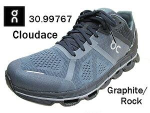スイス発ブランドON オン on 30.99767  Cloudace クラウドエースGrephite/Rock メンズ ランニングシューズ ウォーキングシューズ スニーカー スポーツ 靴 通学