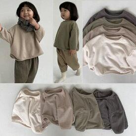 Berpy ベビー 裏ボアトレーナー 赤ちゃん 服 裏ボア 暖かい トップス 60 70 80 90サイズ