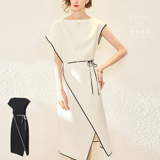 Lady's fashion extreme popularity cute dress Tulle race change dress commuting dress medium dress A-line dress wedding ceremony dress party dress commuting looking thinner wedding ceremony second party refined four circle invite