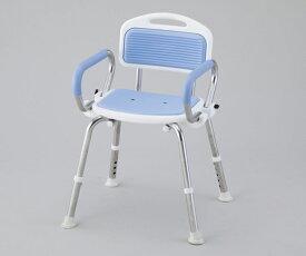 業務用シャワー椅子 ブルー/レッド【8-2332-01/8-2332-02】