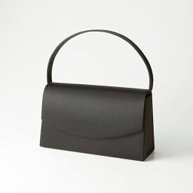 【ラウンド型の大きいブラックフォーマルバッグ】日本製 CARETTE カレット ブラックフォーマル バッグ お盆 お墓参り 告別式 ギフト 贈り物 フォーマル レディース 大きめ 鞄 手提げ 黒 サブバッグ