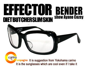 EFFECTOR DIET BUTCHER SLIM SKIN BENDER 효과 벤더 effector 안경