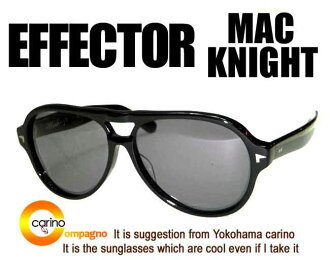 EFFECTOR×Macknight effector McKnight sunglasses