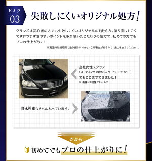 カーメイトC121R1グランズボディコーティングコンプリートセットガラスコーティング車撥水ツヤカーケミカル初心者簡単