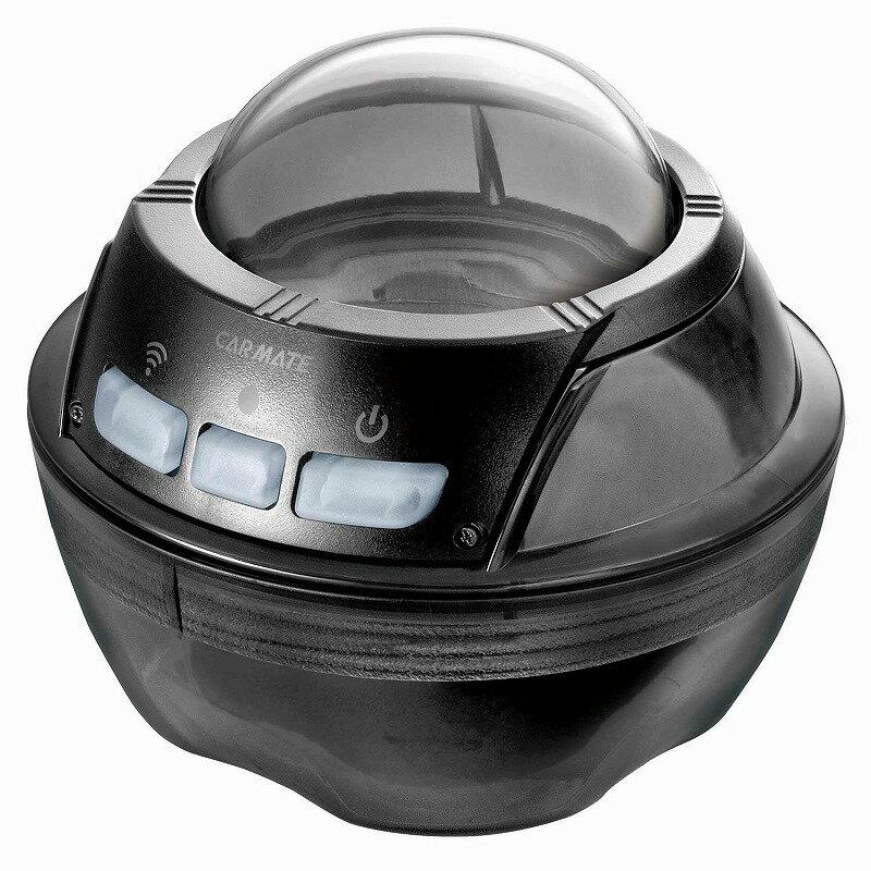 カーメイト DC300 防滴ケース ダクション360 ドライブレコーダー360度 アクションカメラ オプション