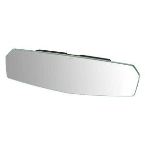 ルームミラーカーメイトDZ447リアビューミラーエッジ3000SR300mm緩曲面鏡クローム鏡バックミラー車ルームミラー