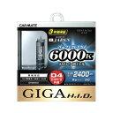 GIGA HID D4R D4S 色温度6000K 純正交換用H.I.D.バーナー長寿命 HID バルブ カーメイト GHB960 パーフェクトスカイ バ…
