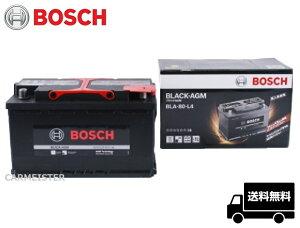 BOSCHボッシュBLACK-AGMバッテリーBLA-80-L4