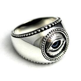プロビデンスの目 ホルスの目 フリーメイソン 義眼 エジプト リング 指輪 シルバー925 アクセサリー goodvibrations グッドバイブレーション 大きいサイズ