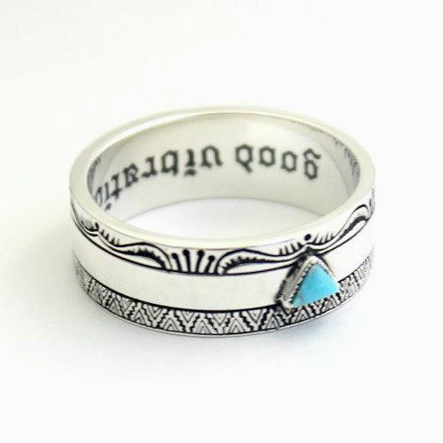 ネイティブアメリカン インディアン ターコイズ シルバー925 リング 指輪 アクセサリー goodvibrations グッドバイブレーション