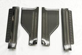 トヨタ ルーミー M900A M910A ブラック ステンレス スカッフ プレート / キッキング ボード / サイド ステップ ガード